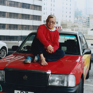 Helmut Lang T-shirt –Hong Kong Taxi driver 2 (2)