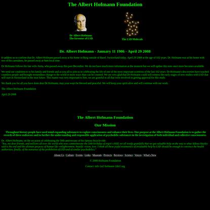 Albert Hofmann Foundation