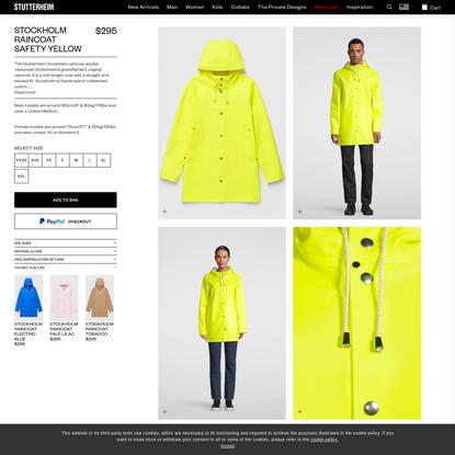 Stockholm Safety Yellow | Stutterheim™ USA