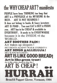 Why Cheap Art? Manifesto