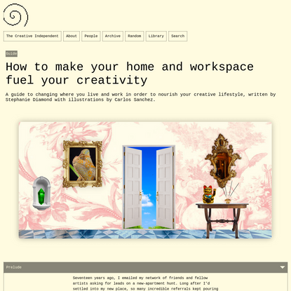 How to make your home and workspace fuel your creativity – The Creative Independent