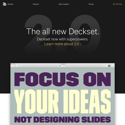 Deckset for Mac: Presentations from Markdown in No Time