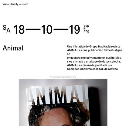 Sociedad Anonima - Animal