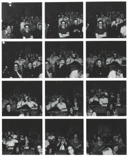 Vito Acconci, Twelve Pictures, 1969