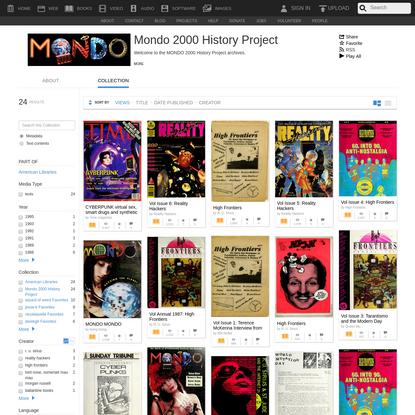 Mondo 2000 History Project