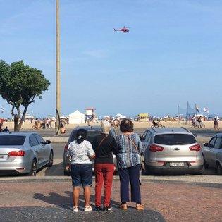 Em Copacabana tudo se assiste
