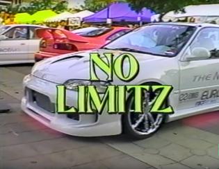 Mischief NO LIMITZ street racing movie, title card