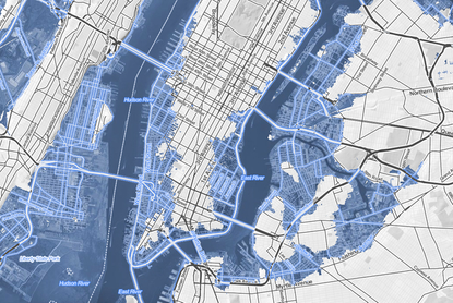 See How Much of NYC Will Be Under Water In 200 Years