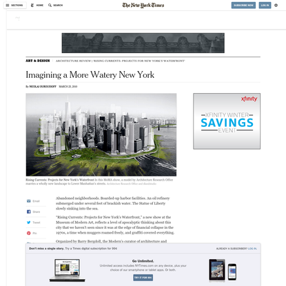 Imagining a More Watery New York