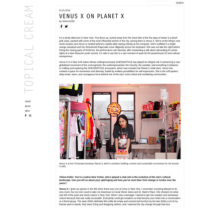 Venus X On Planet X