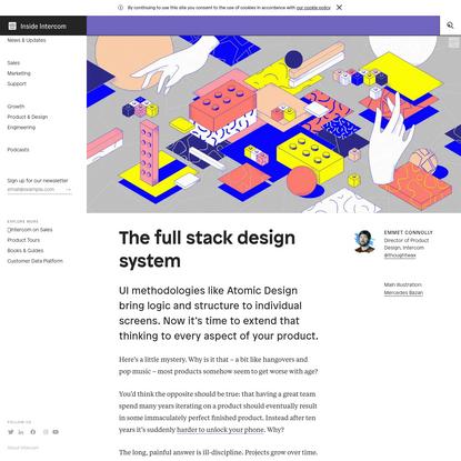 The full stack design system | Inside Intercom