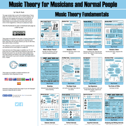 Music theory for normal people