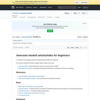 awesome-haskell/README.md at master · albohlabs/awesome-haskell · GitHub