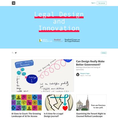 Legal Design and Innovation - Medium