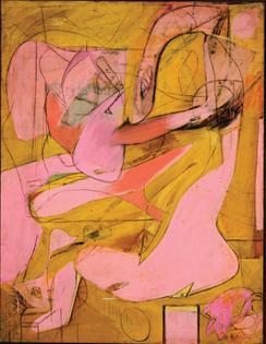 Willian DeKooning—Pink Angels