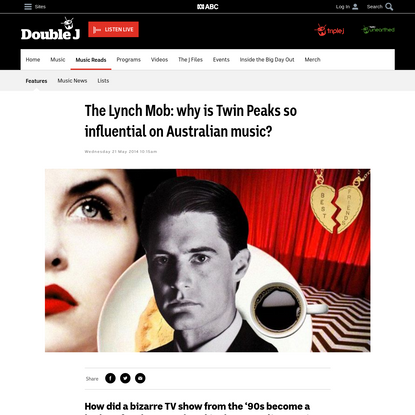 The Lynch Mob: why is Twin Peaks so influential on Australian music?