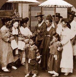 wedding, seoul, 1900