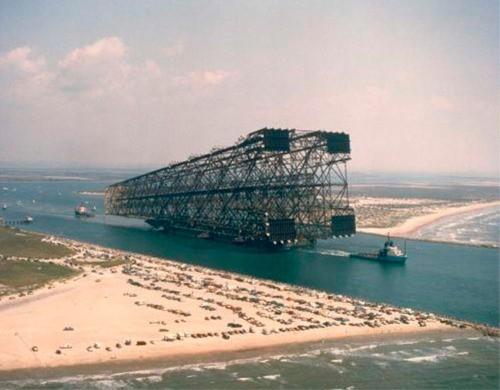 Petronius oil platform