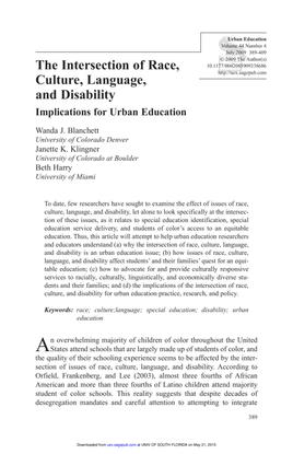 Blanchett-Klingner-Harry_2009_Intersection-of-race-culture-language-disability.pdf