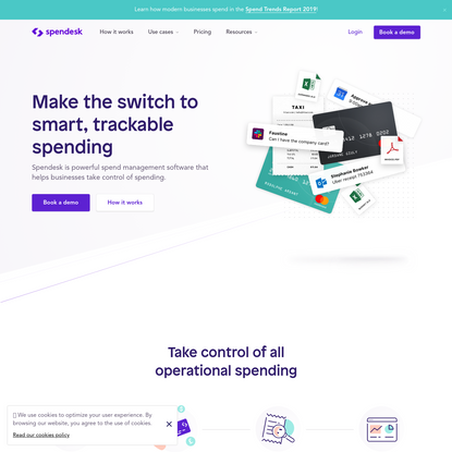 Powerful spend management software for business | Spendesk