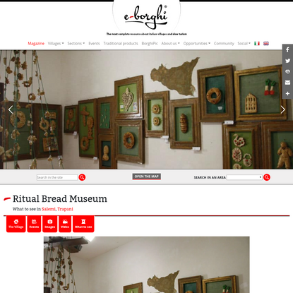 Ritual Bread Museum, what to see in Salemi |
