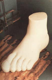 Gaetano Pesce –»Soft Foot« (1970)
