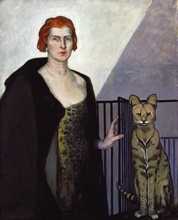 la baronne emile d'erlanger, by romaine brooks (1924)