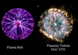 Plasma Ball vs Planertary Nebula