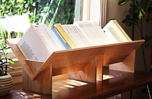 Slotted System Bookcase by BOOK/SHOP