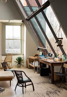 Sean Spellman's Studio, Westerly, Rhode Island