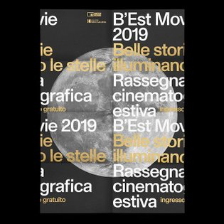 @andrea_guccini designed the identity for Rassegna B'Est Movie, an Italian outdoor film festival organised by the Cineteca d...