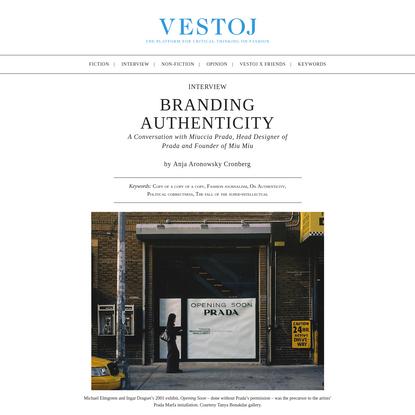 Branding Authenticity