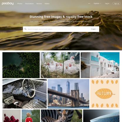 Pixabay - 1 million+ Stunning Free Images to Use Anywhere