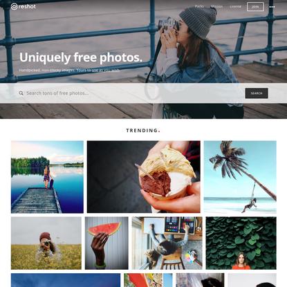 Uniquely free photos | Reshot