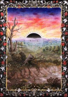 Laurie Lipton Splendor Solis: The Black Sun