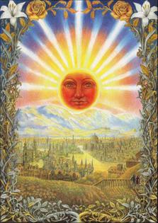 Laurie Lipton  Splendor Solis: The Risen Sun