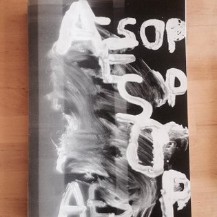 New Book - Aesop -Romain Bobichon - www.lendroit.org #artistbook #scanner #drawings #available now