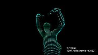VDMX5 tutorial Audio Analysis + Kinect