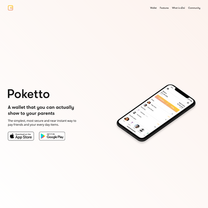 Poketto - Your everyday wallet