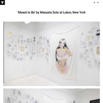 'Meant to Be' by Manuela Soto at Lubov, New York - Tzvetnik