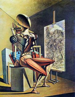 Painter, by Giorgio de Chirico
