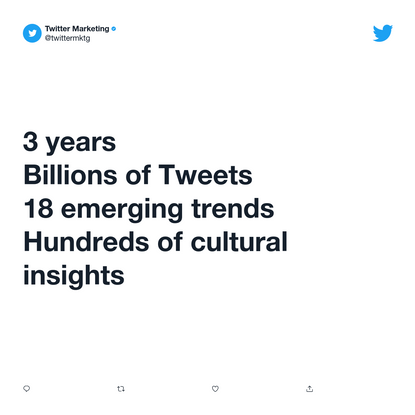 Explore the insights & conversations on Twitter shaping culture