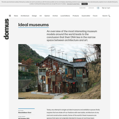 Ideal museums