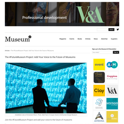 The #FutureMuseum Project: Add Your Voice to the Future of Museums - Museum-iD