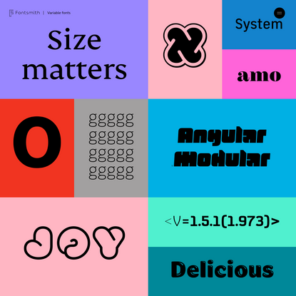 Fontsmith Variable Fonts   Interactive Microsite