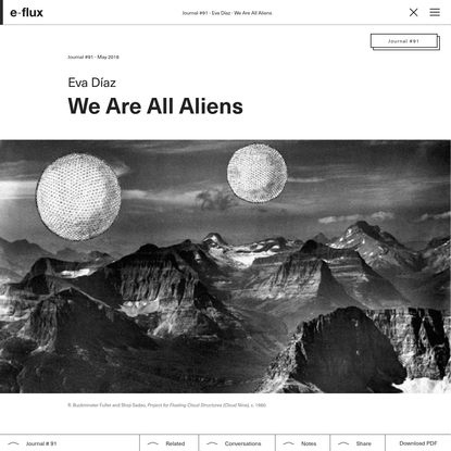 We Are All Aliens