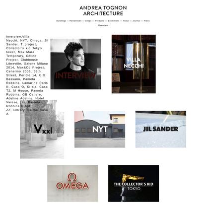 Home - Andrea Tognon
