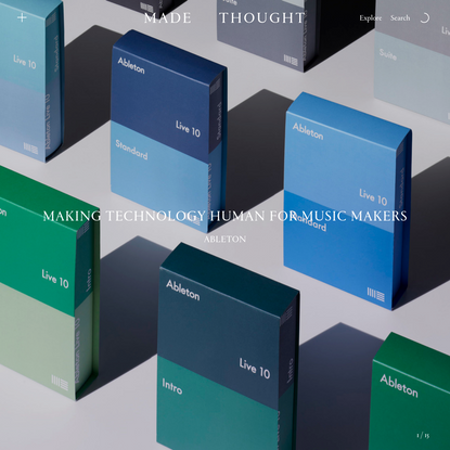 Made Thought   Creative office for heartfelt strategy and exquisite visual craft