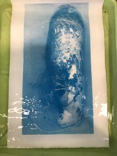 Cyanotype in water