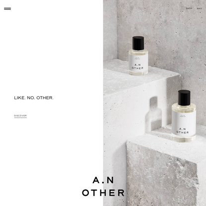 A.N. OTHER - Limited-edition, Parfum grade fragrances, brought to life by exceptional perfumers